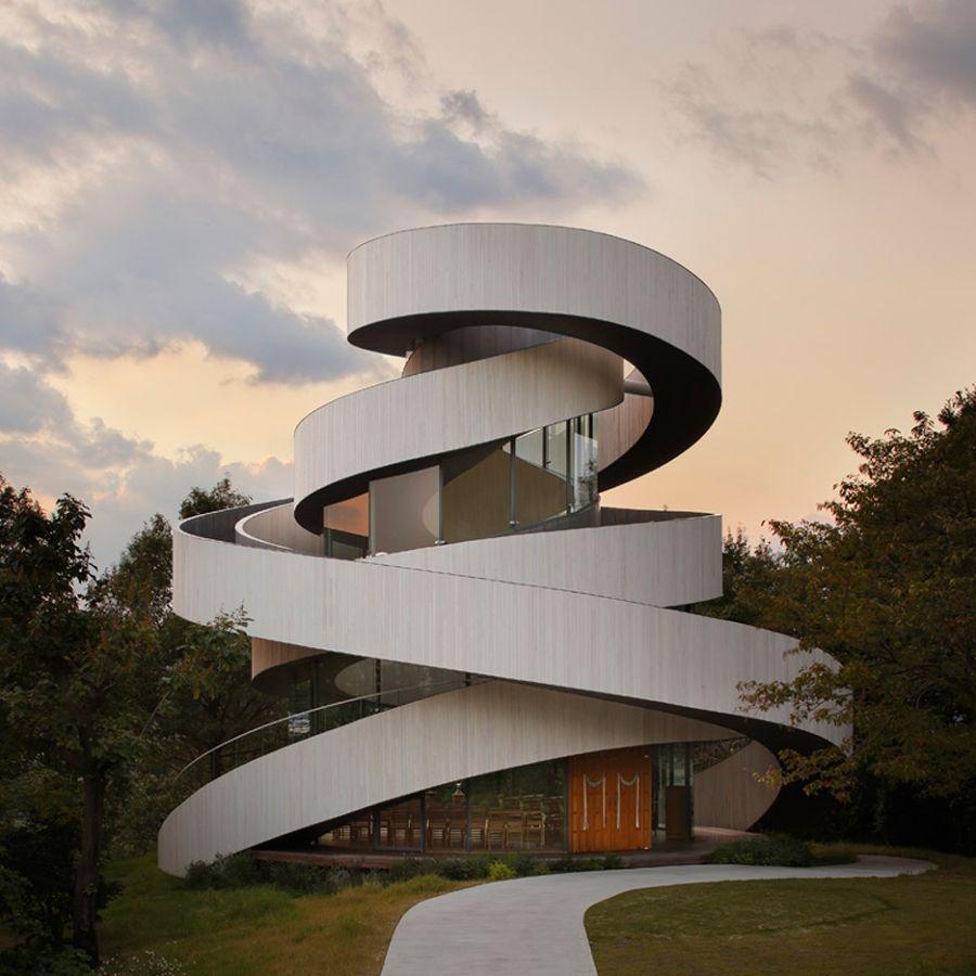 Escalera Exterior De Caracol Moderna Dise O Escaleras