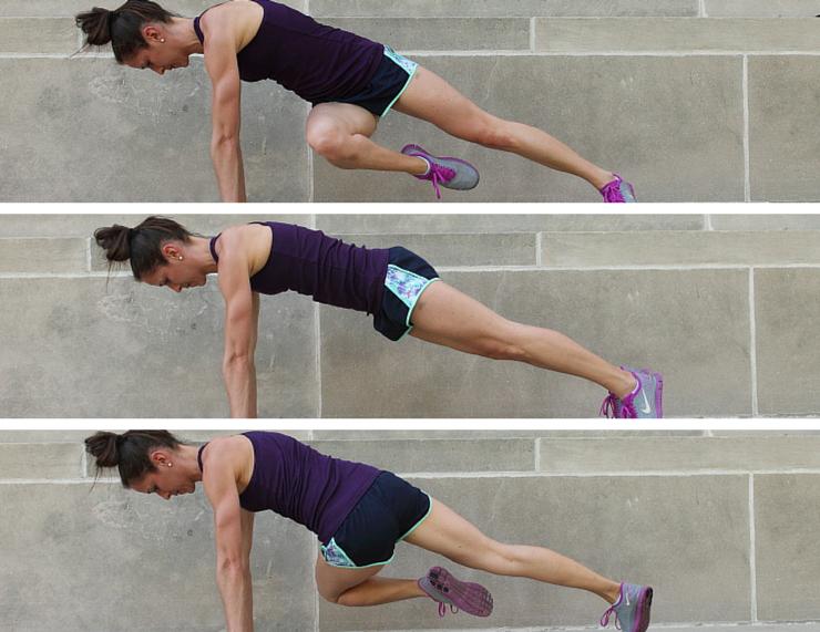 Side Twists - Plank Love Workout