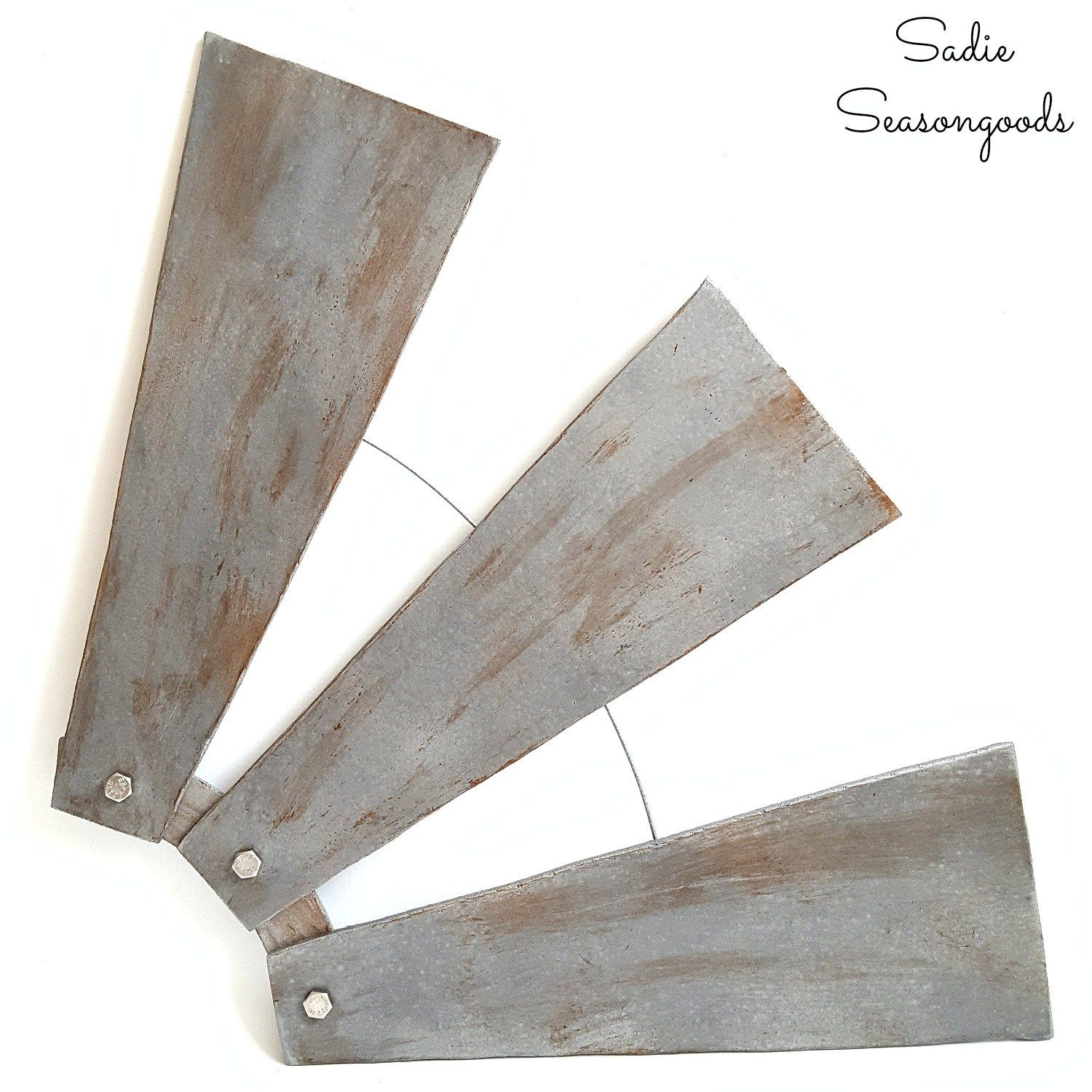Windmill Decor For Farmhouse Home Decor From Ceiling Fan Blades