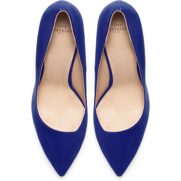 Zara Basic Court Shoe   Court shoes