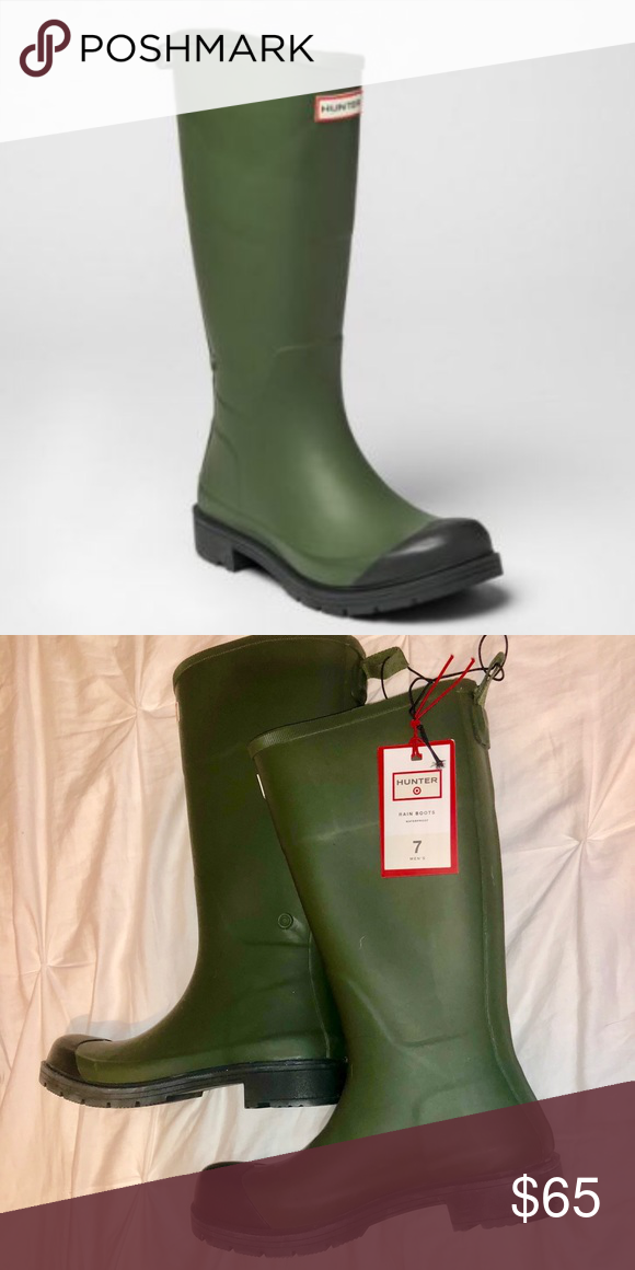 13277ffd88b NWT Hunter for Target Men's Tall Rain Boots New with tags, never ...