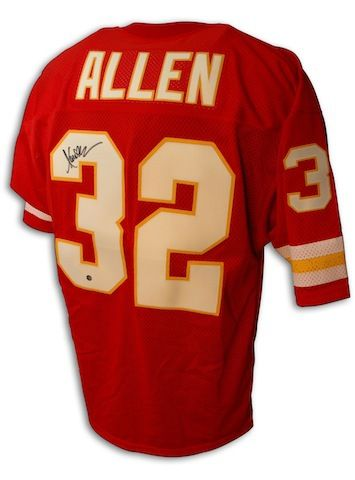 marcus allen signed chiefs jersey
