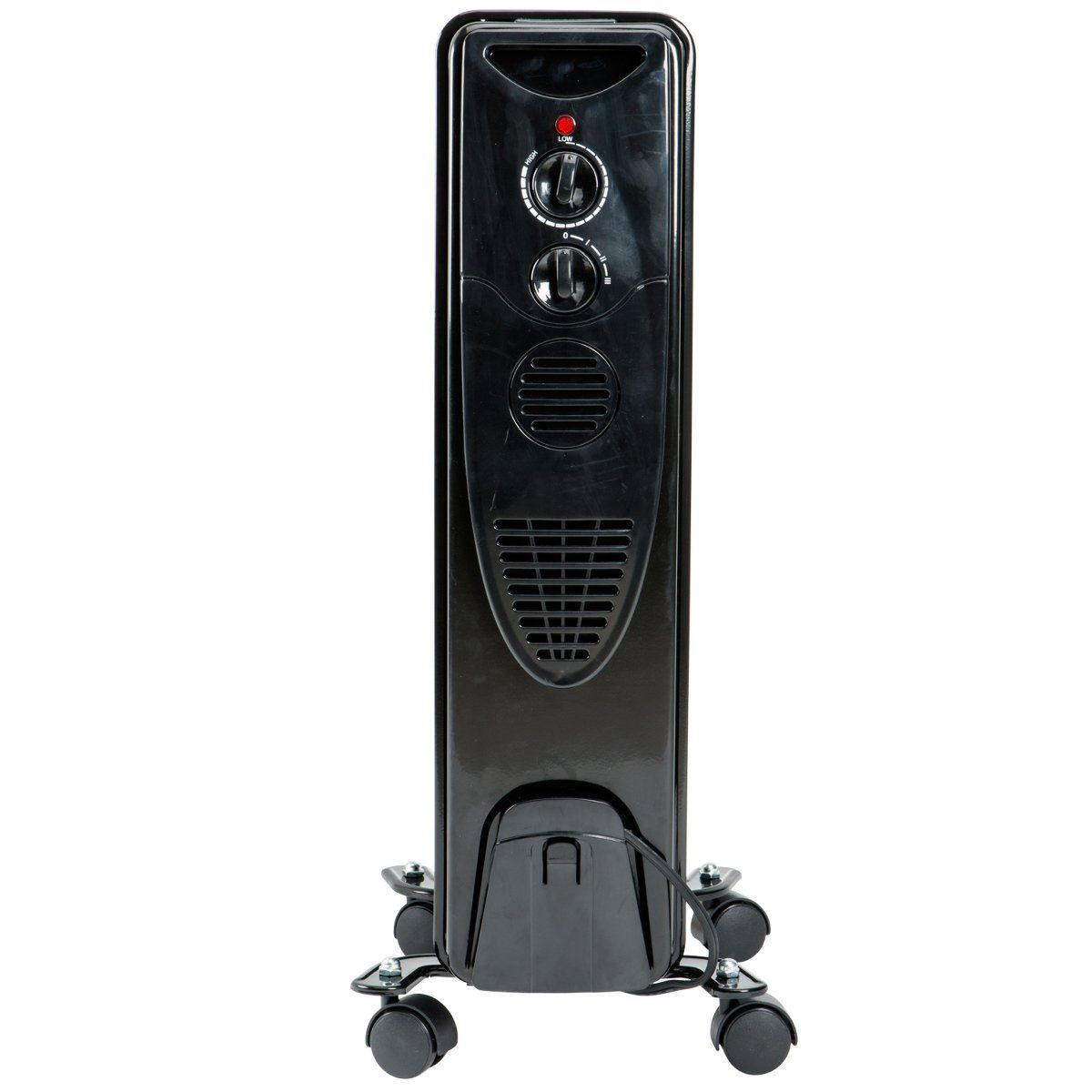 1500 Watt Oil Filled Radiator Heater Black *** Check out
