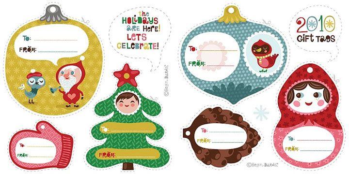 Recursos para tus paquetes navideños