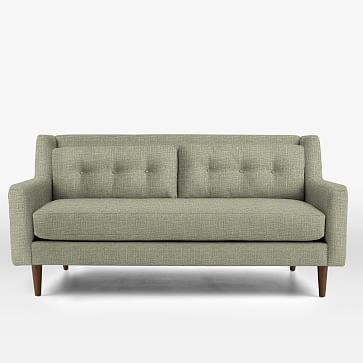 "Crosby 80"" Sofa, Herringbone Tweed, Sandstone"