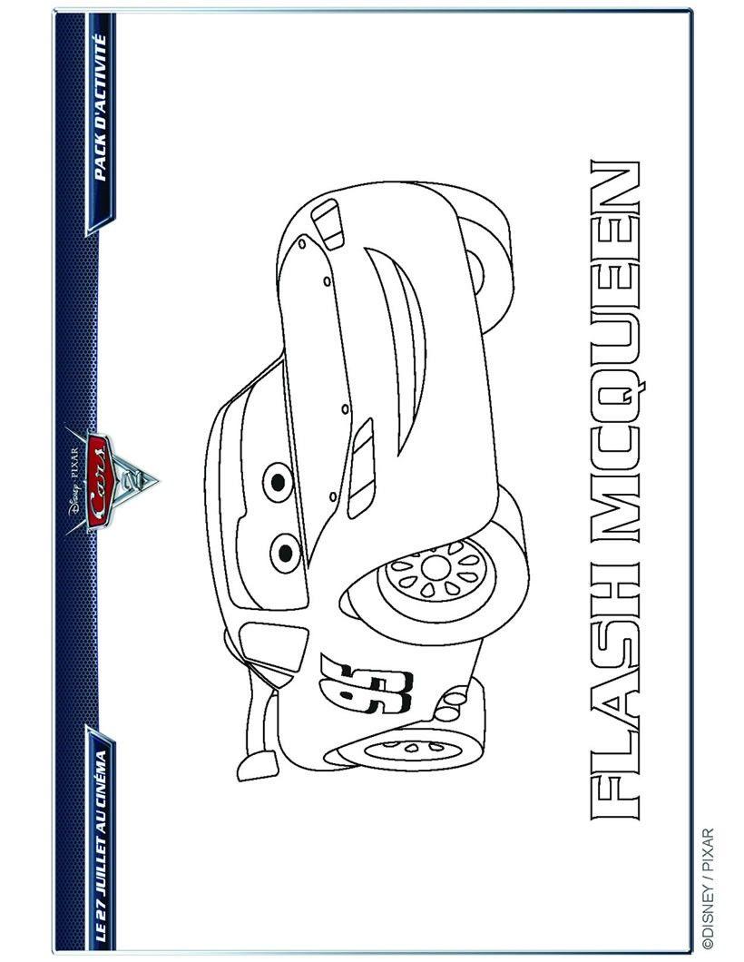 Cars 2 colorier mod les silhouette portrait color et silhouette - Dessin anime flash mcqueen ...