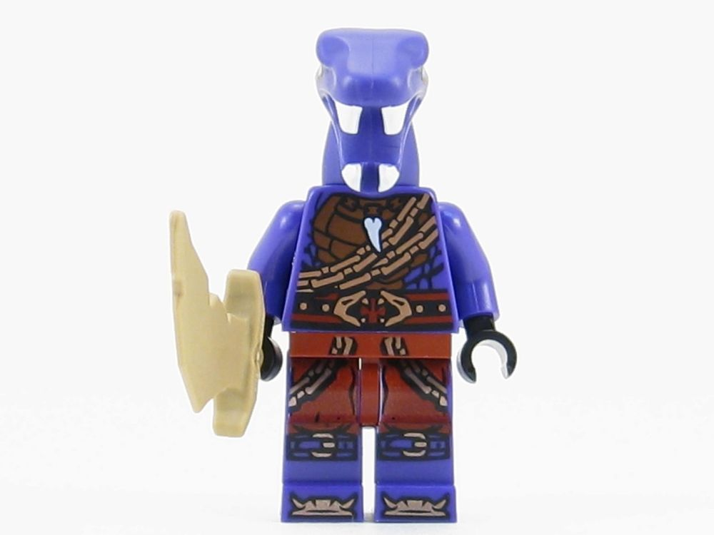 LEGO NINJAGO  Eyezorai Snake Ninja minifigure w// weapon New From set 70595