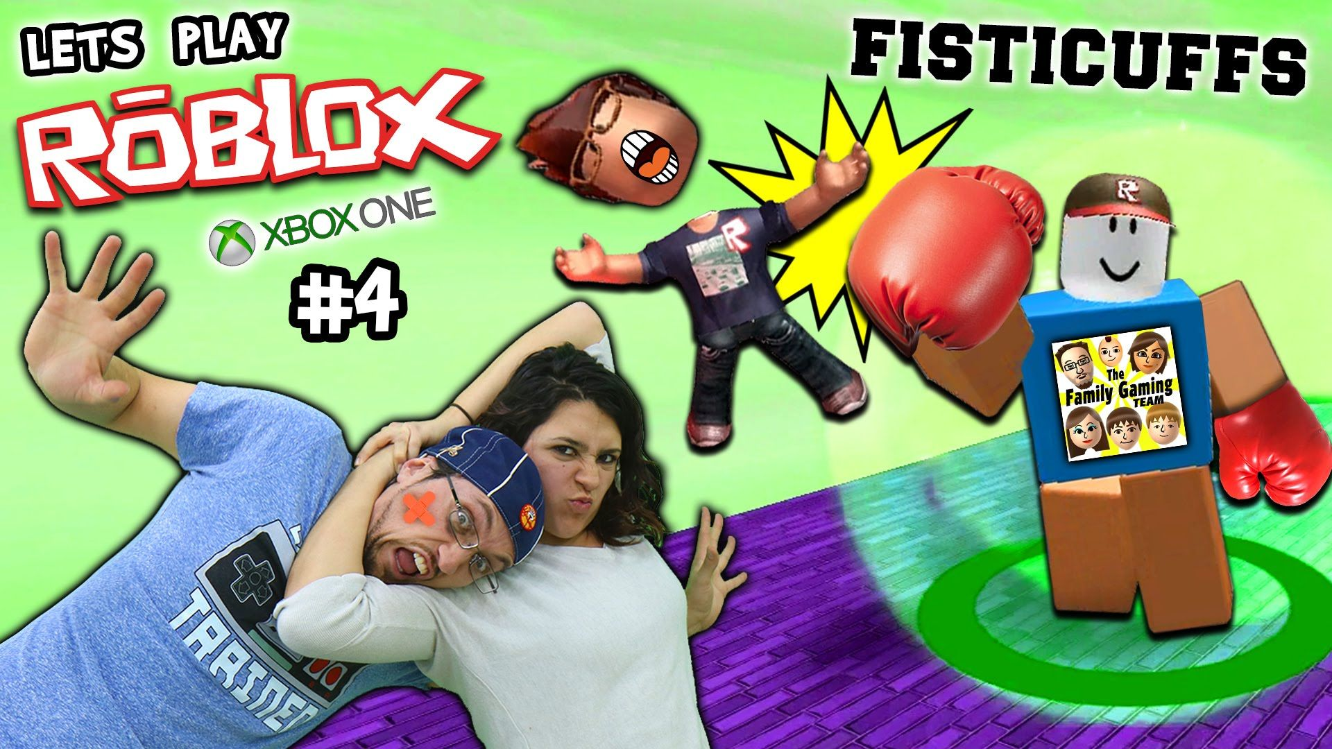 Let S Play Roblox 4 Fisticuffs Momma Will Knock You Out