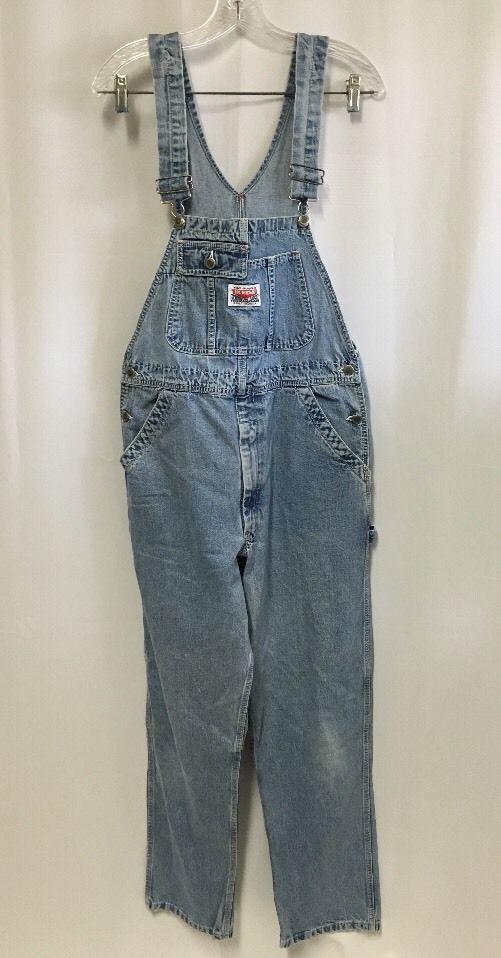2ede71c9b29c Vintage Ikeda Overalls M Bib Jeans Adult 34