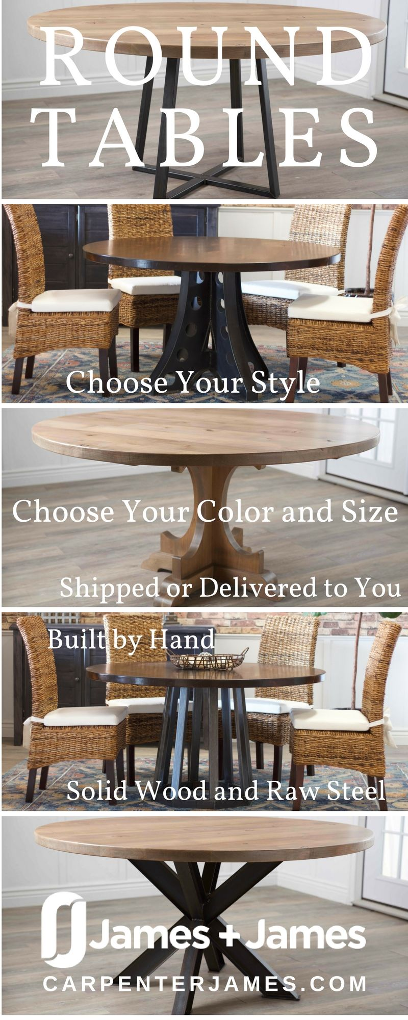 Woods Complete your space with a round