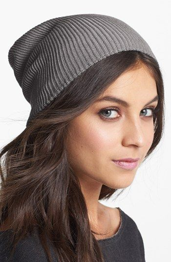 i'm gonna get one in every color - the perfect slouchy knit hat // $35