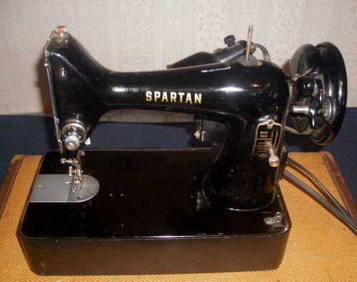 Vintage-Spartan-Singer-Manufacturing-Co-Sewing-Machine