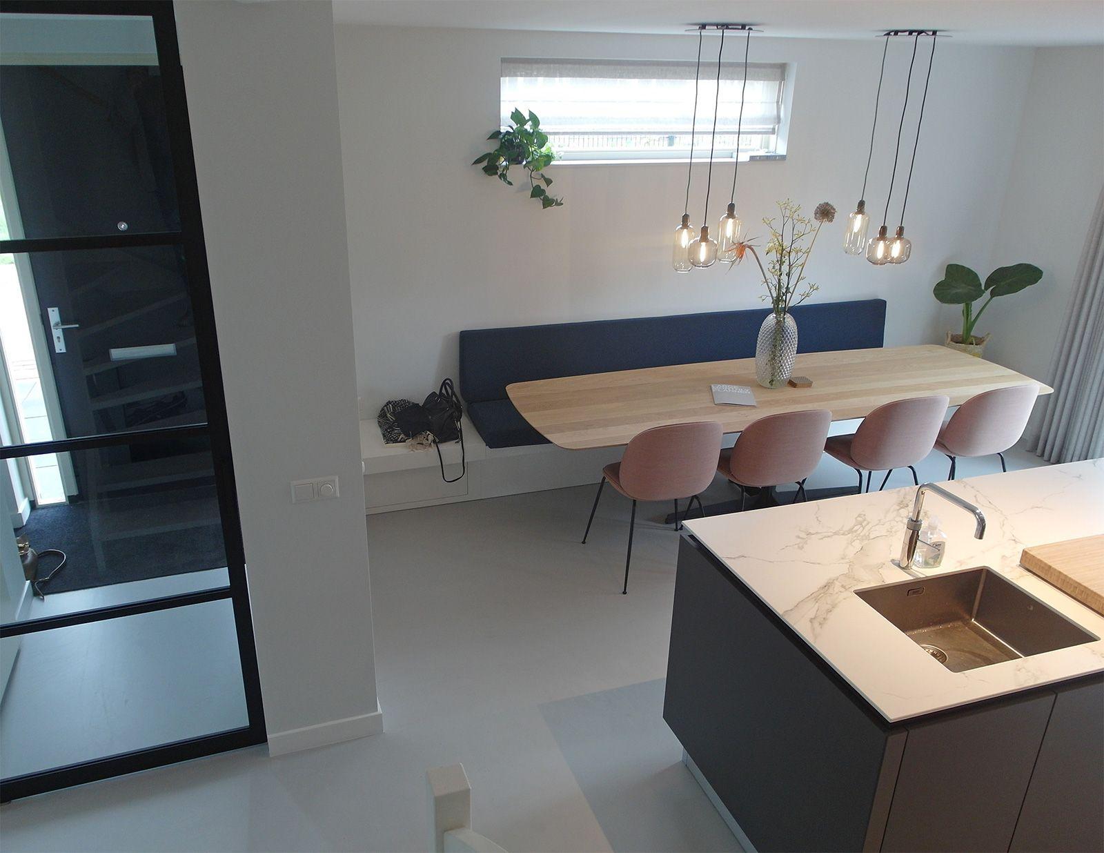 Rustieke Woonkeuken Gietvloer : Gietvloer woonkeuken berkel en rodenrijs grijs decoratie huis