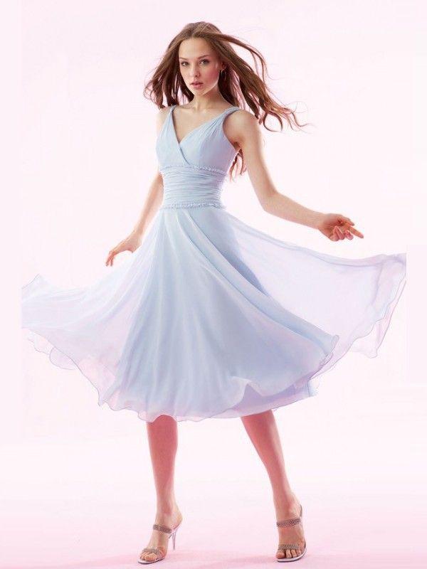 17 Best images about Bridesmaids on Pinterest | A line, Tea length ...