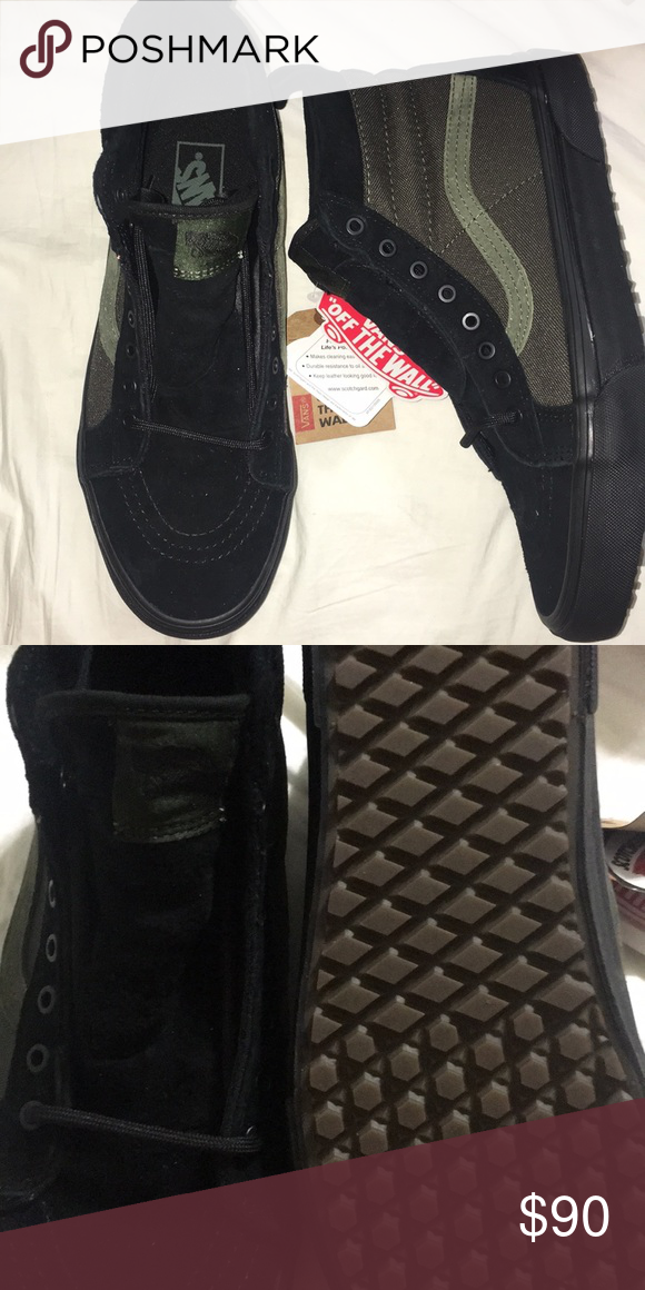 Sk8-hi MTE Vans Skate high MTE black  rosin men s size 8 or women s ... 2ba00f37b