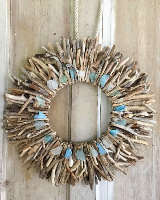 Nice Coastal Theme Driftwood Wall Decor U0026 Art Handmade In USA From Etsy |  Driftwood, Coastal And Wall Decor