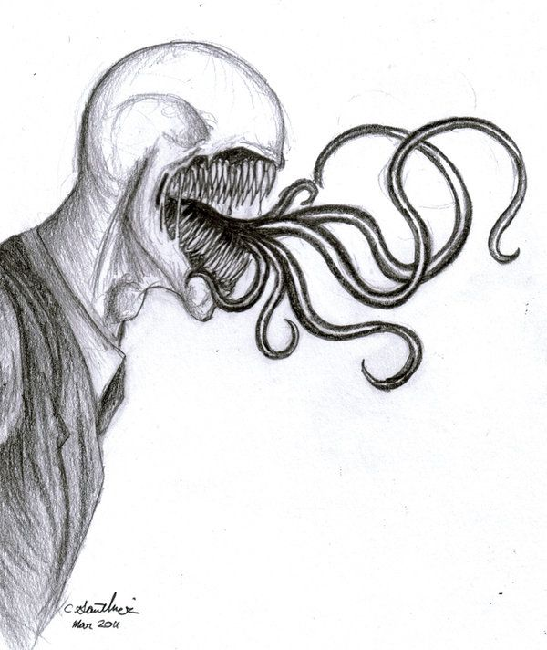 Slender scream by Maskdt.deviantart.com on @DeviantArt What Slendy thinks of obsessive fangirls