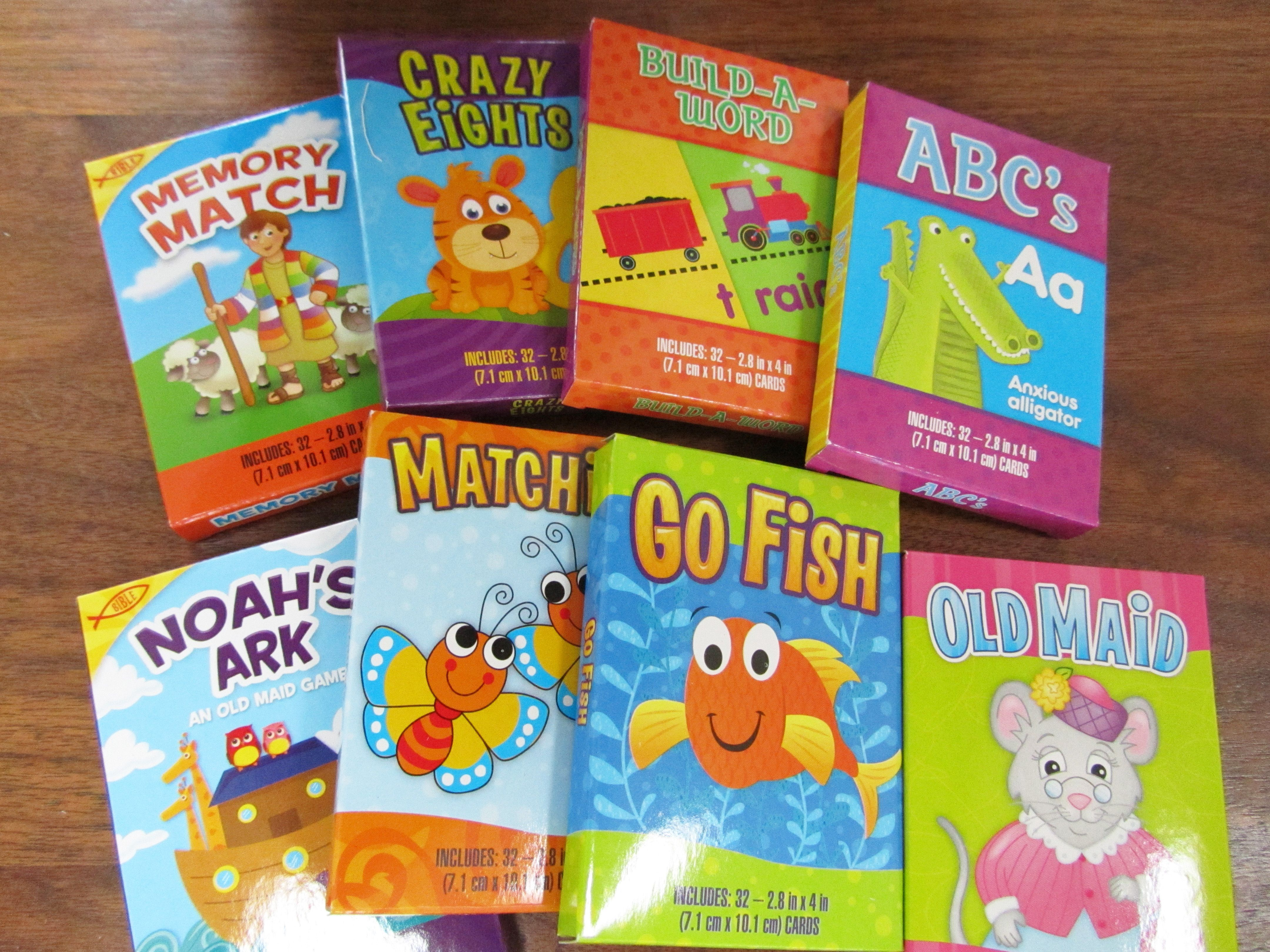 Card games for younger kids three for a dollar at dollar