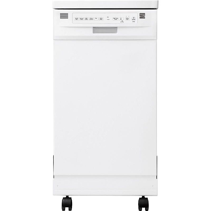 Kenmore 14652 18 Portable Dishwasher White Sears Outlet