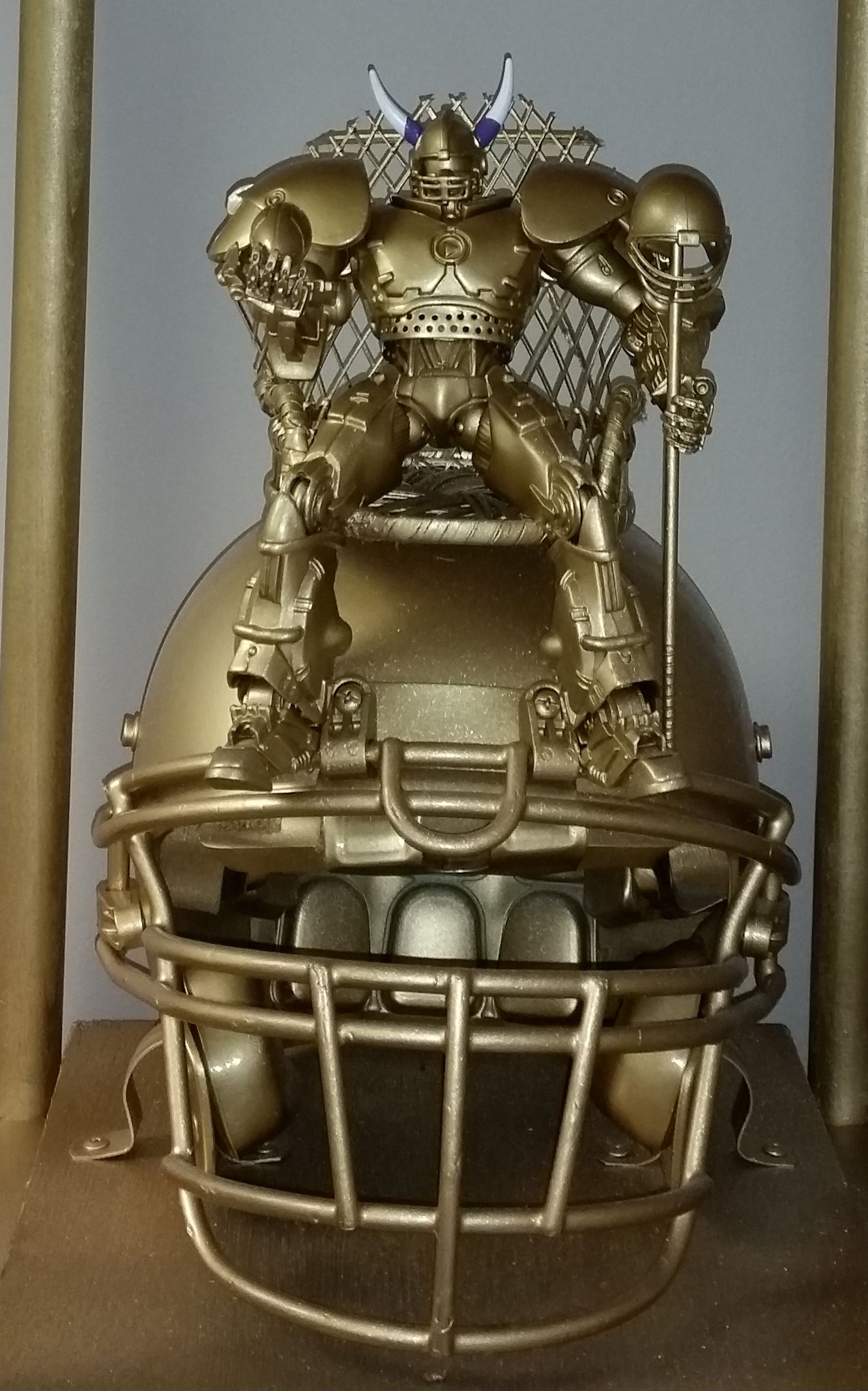 Fantasy football trophy close up shot 2016 nicholas