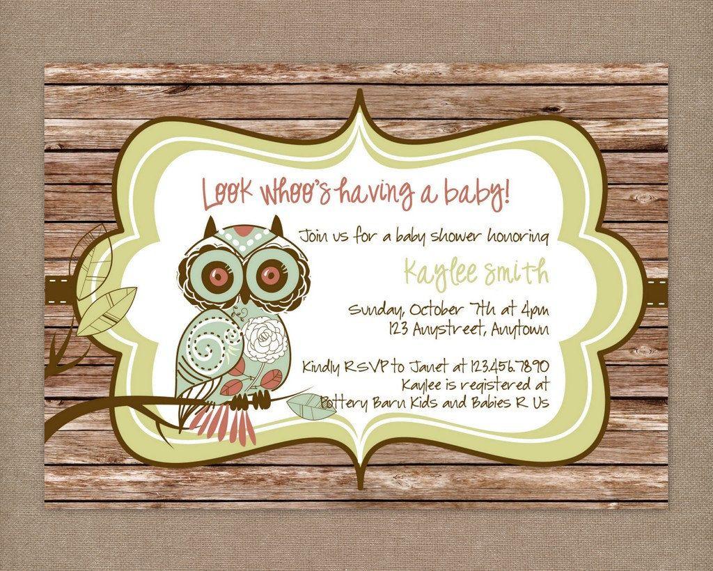 Rustic baby shower printable rustic vintage owl baby shower by rustic baby shower printable rustic vintage owl baby shower by thepaperblossomshop filmwisefo