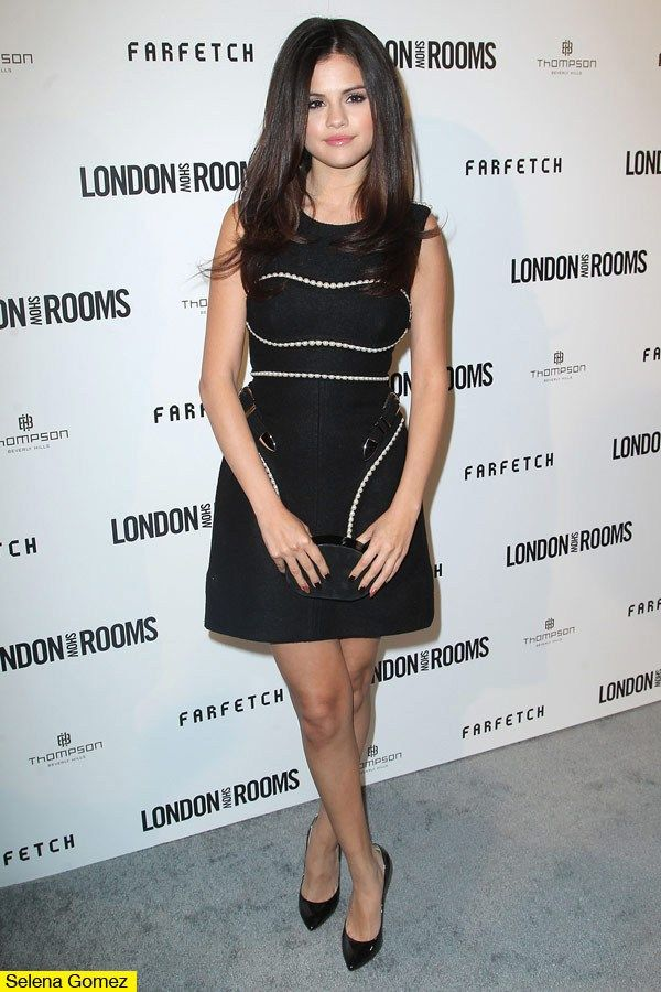 Selena Gomez Looks Glam In A Mini For London Show Rooms Event ...