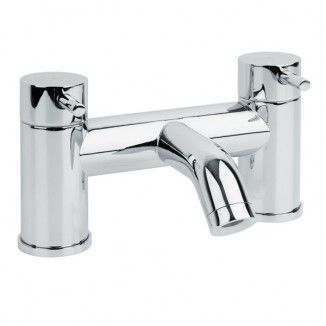 S9 bath filler tap set with lever handles and chrome finish. From the S9 taps collection.    View This Product's Installation Instructions