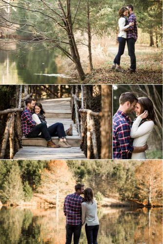 27 Fall Engagement Photos That Are Just The Cutest -   - Kochen -
