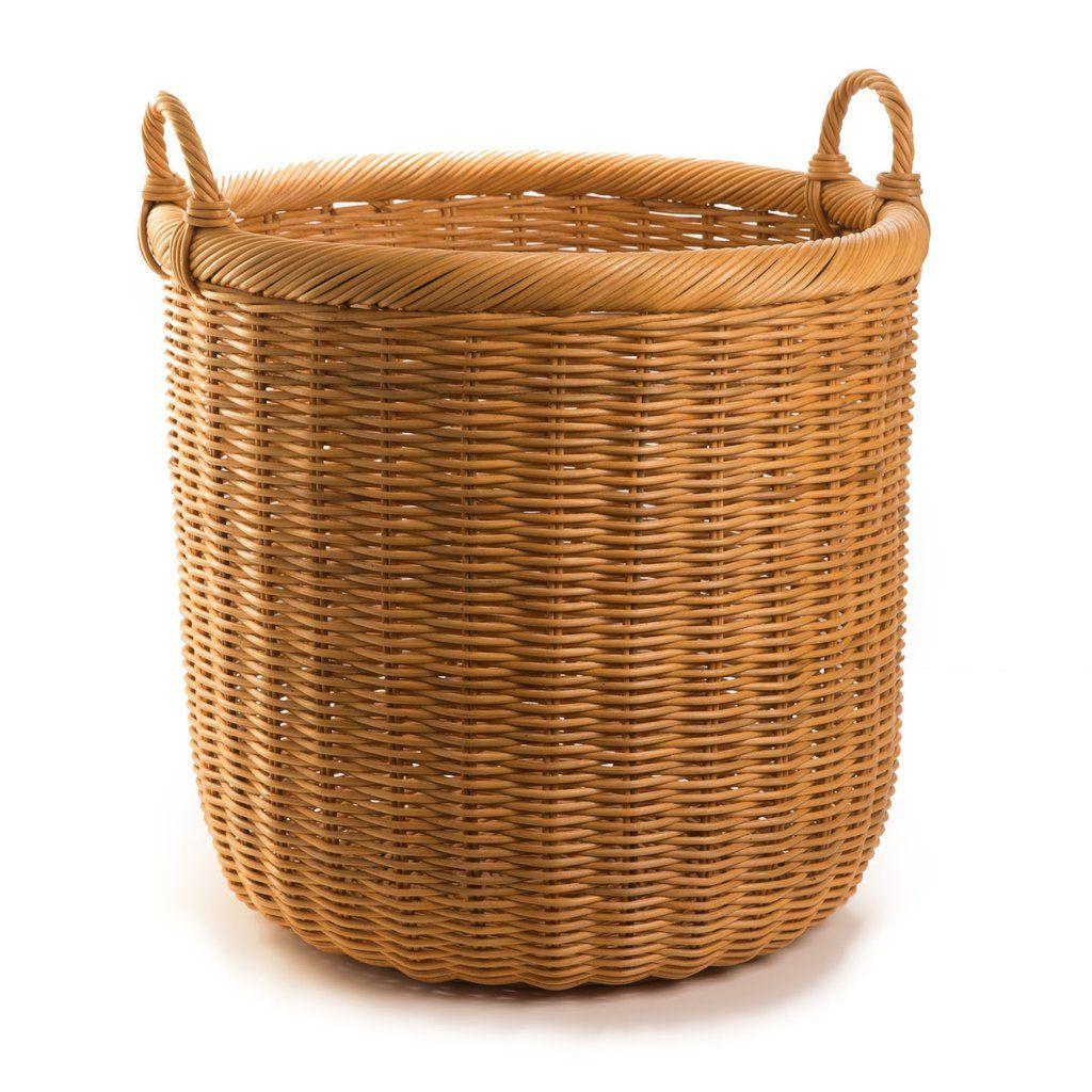 Round Wicker Storage Basket Wicker Baskets Storage Storage Baskets Wicker