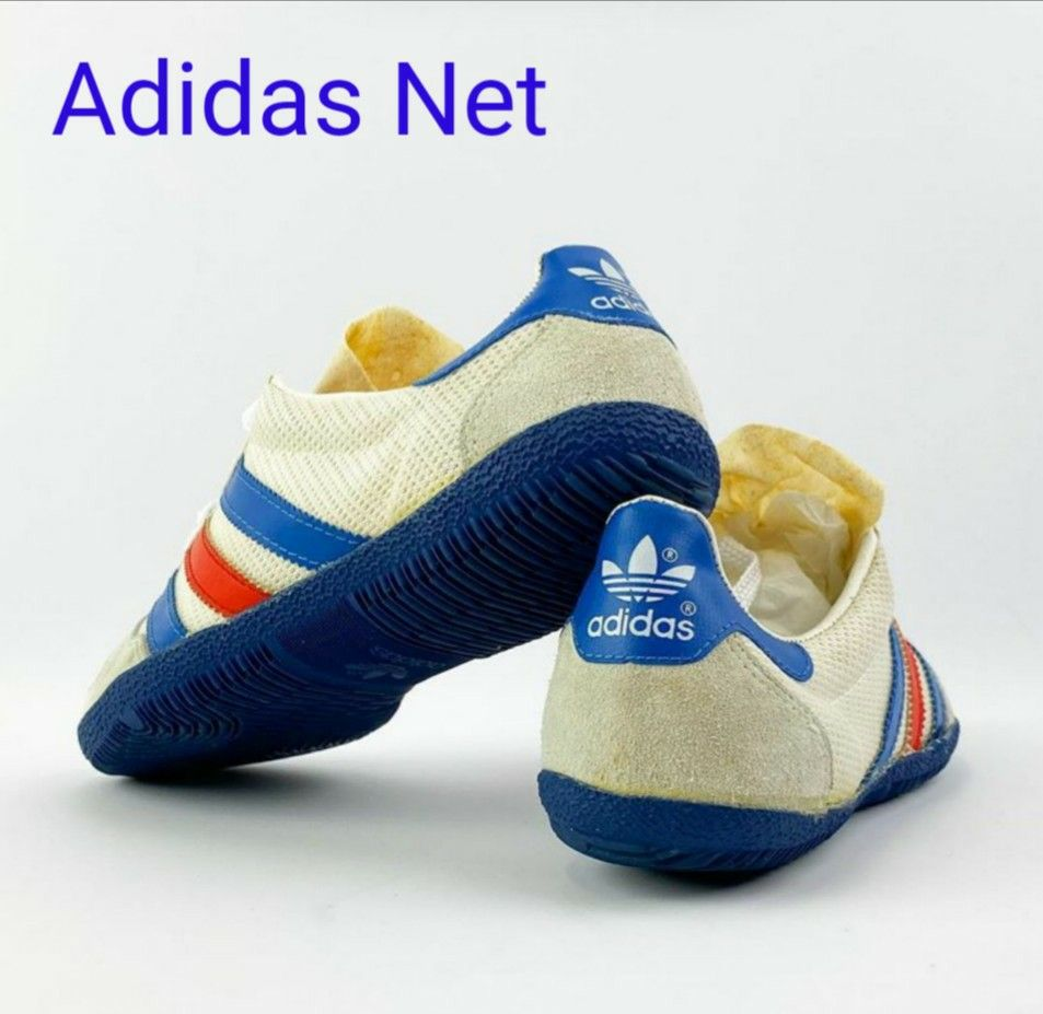 Vintage Adidas Net 80, made in France