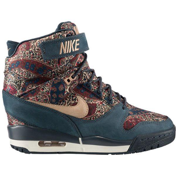 Nike Air Revolution Sky Hi Liberty Qs Nike Shoes Women Sneakers Fashion Womens Shoes Wedges