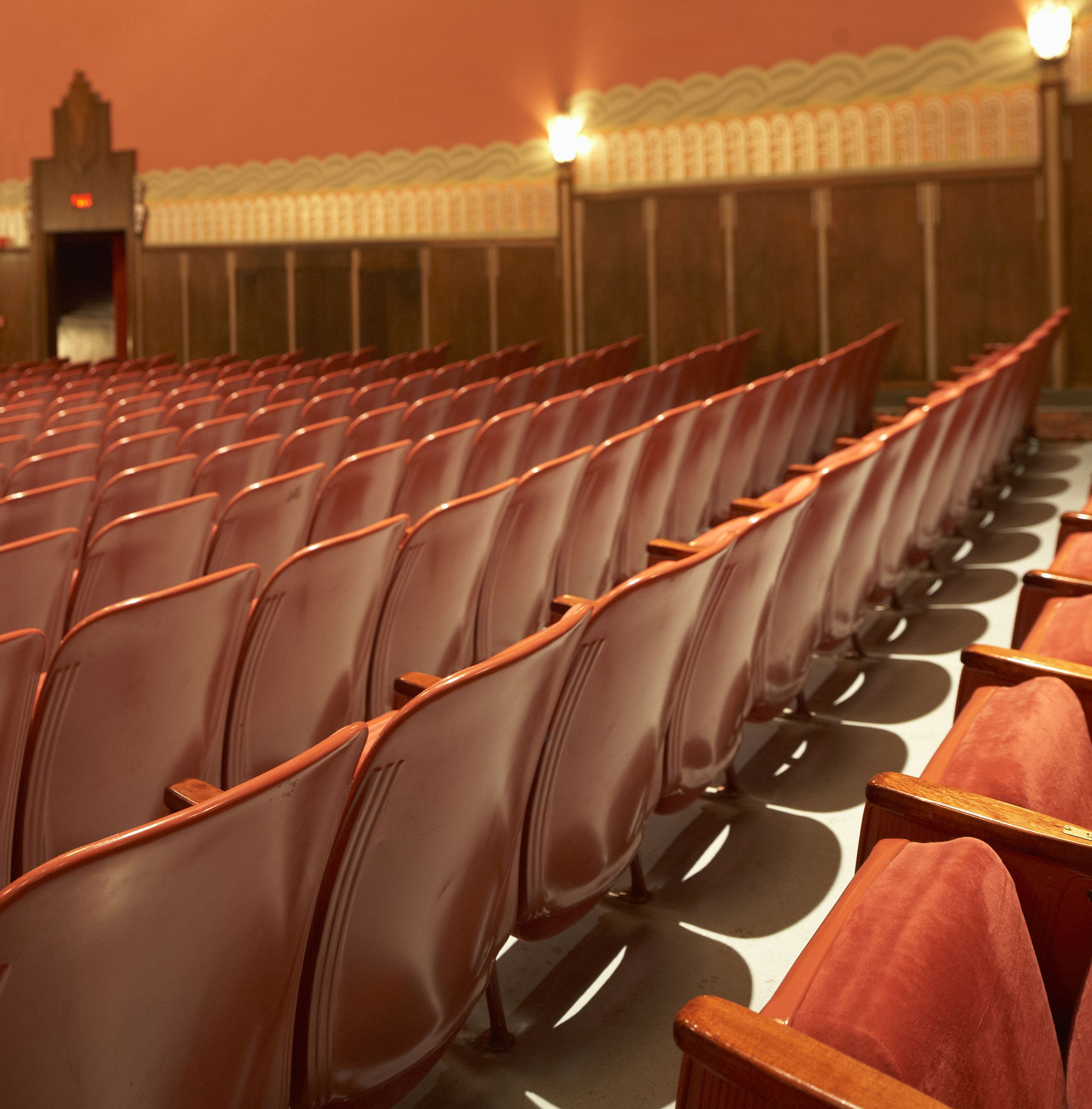 The Beautiful Flynn Theater Is Undergoing A Renovation To Replace All The Seats Thanks To A Special Anonymous Performance Art Cultural Landscape Art Education