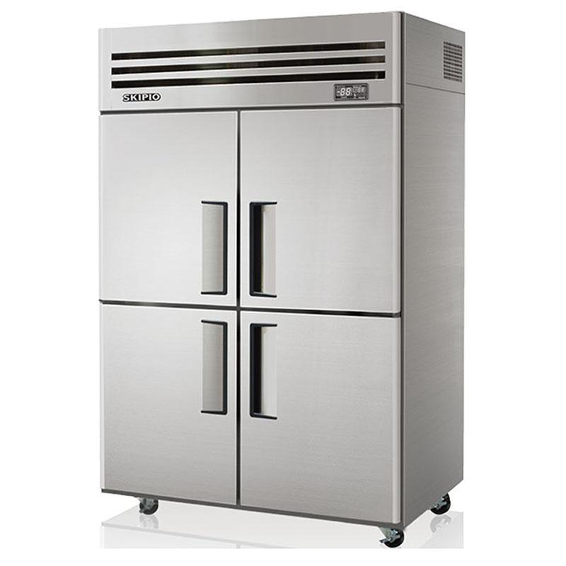 Reach In Chiller Half Doors Solid Doors Upright Freezer
