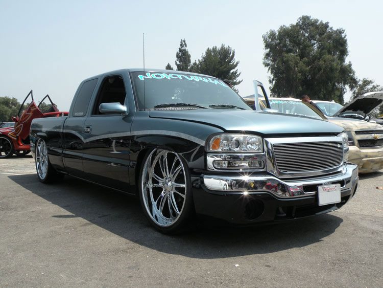 Modified Gmc Sierra 1500 Truck Provides Visionary Owner
