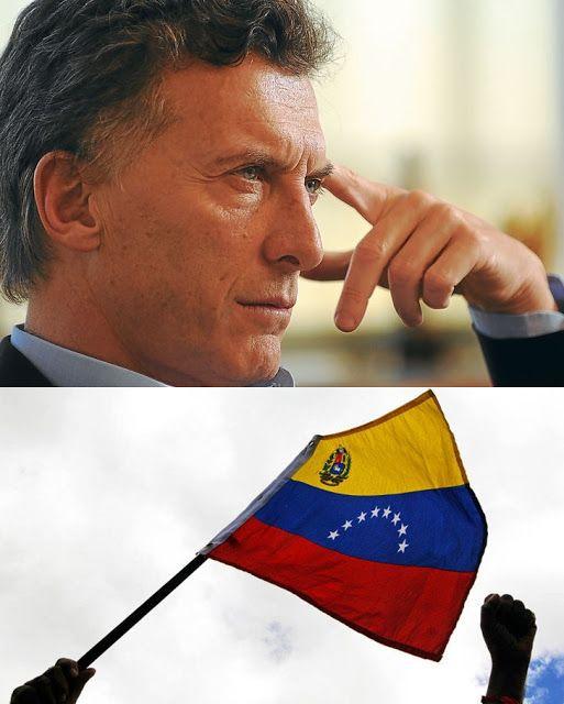 DIÁRIO DO PODER  : MACRI DECLARA GUERRA CONTRA A VENEZUELA