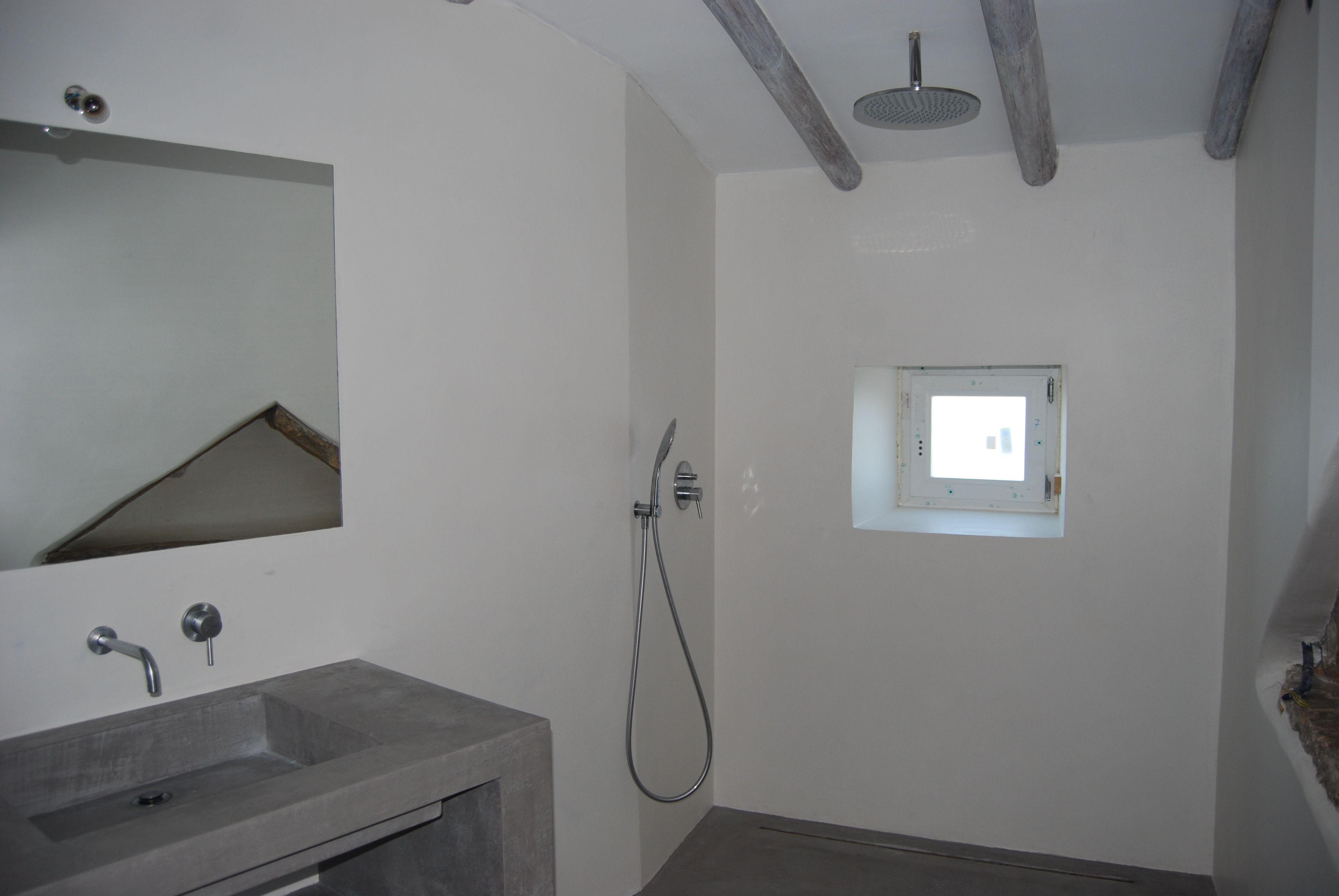 badkamer slaapkamer 2, met regendouche