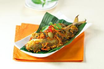 Pepes Ikan Bobara Makanan Resep Masakan
