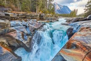 Numa Falls Kootenay National Park, Canada - Peter Unger/Getty Images