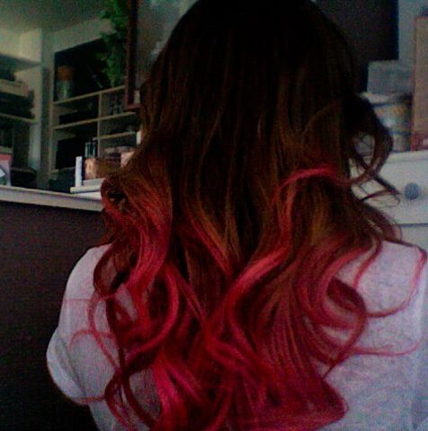 Pin By Jessie Harris On Hair Hair Styles Tumblr Hair Rainbow Hair Color