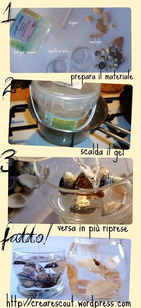tutorial candele gel