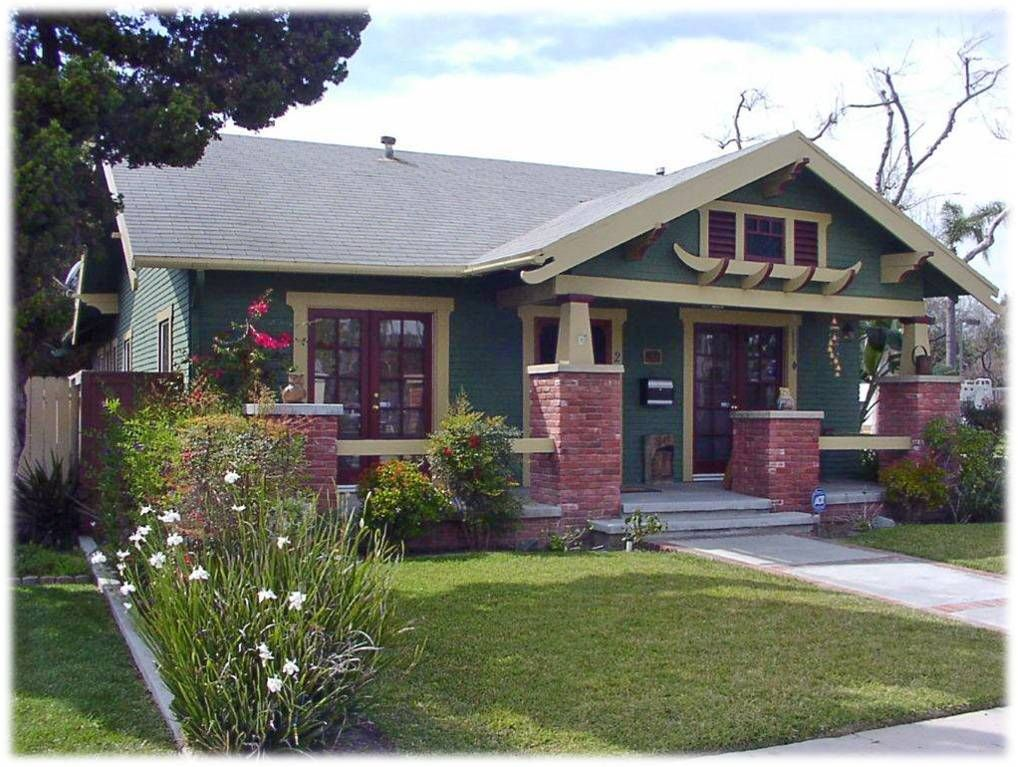 I Love American California Craftsman Bungalow Style Homes