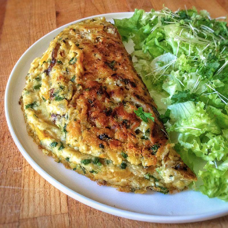 comment faire une omelette vegan parfaite pour tous les go ts veronika my food pinterest. Black Bedroom Furniture Sets. Home Design Ideas