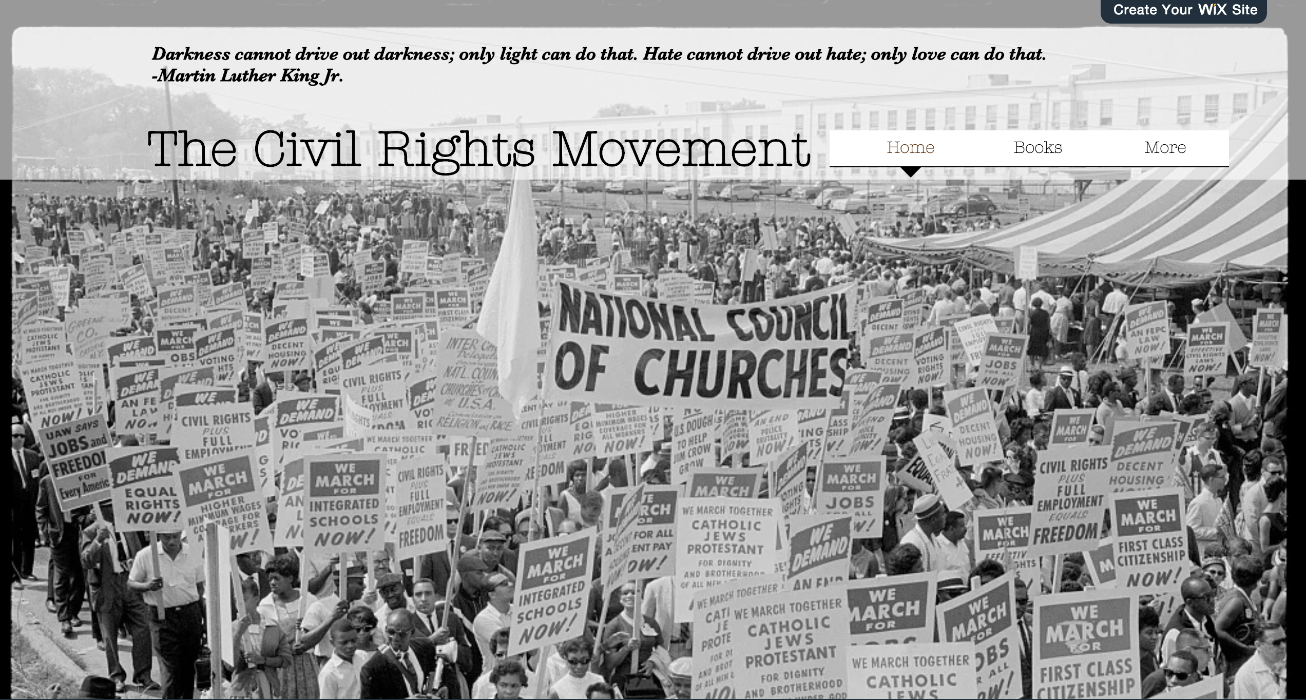 A Civil Rights Movement Resource File I Made For Middle
