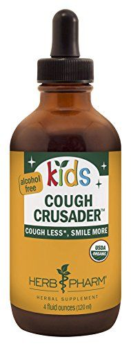 Herb Pharm Kids CertifiedOrganic AlcoholFree Cough