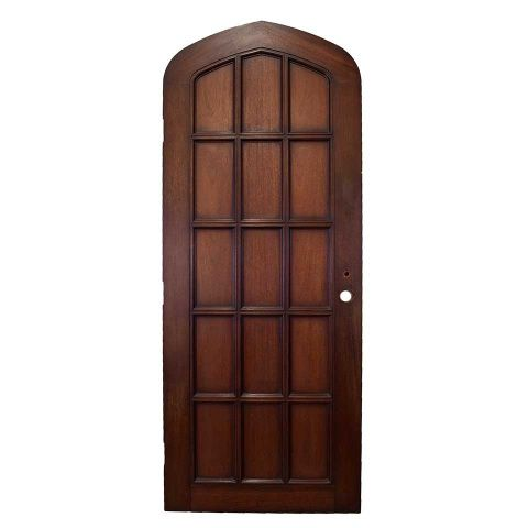 Salvaged Gothic Wood Door Columbus Architectural Salvage Entry