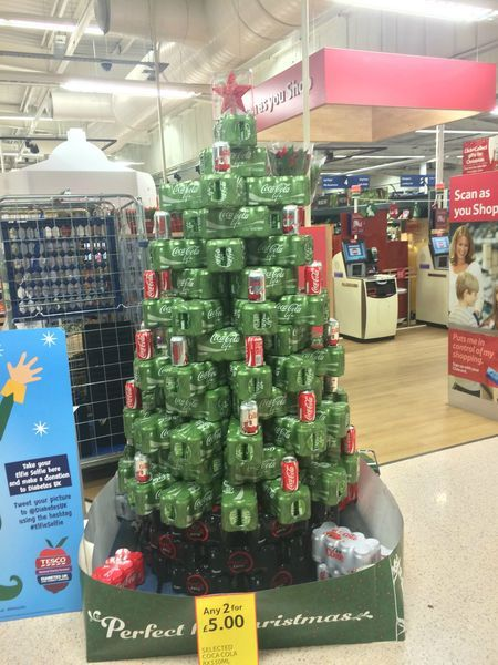 Pin By April Johnsted On Xmas Supermarket Display Christmas Marketing Grocery Store