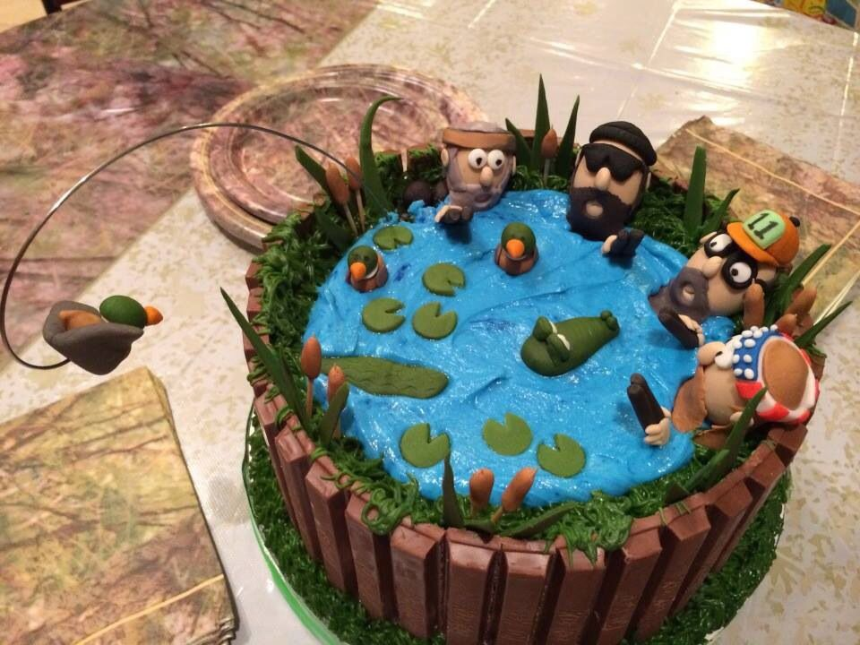 Duck Dynasty Cake Duck Dynasty Cakes Party Cakes Fancy Cakes