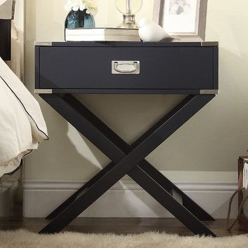 Marotta 1 Drawer Nightstand End Tables Furniture Decor