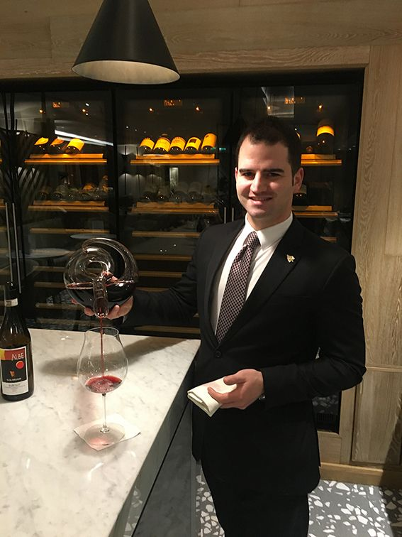 Our Sommelier of the month for February 2017 is Vittorio Gentile, Head Sommelier at Theo Randall at the InterContinental. Click this photograph to view a selection of questions which Vittorio has very kindly answered for us.
