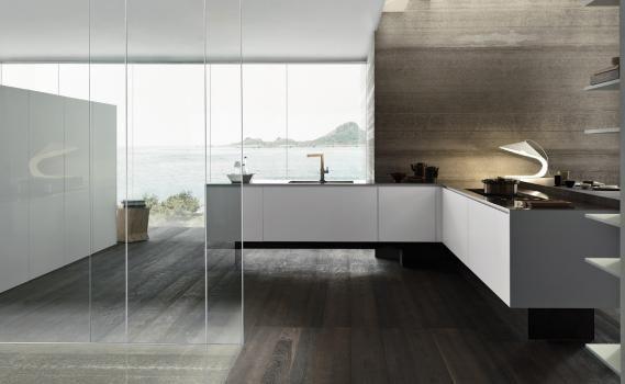 Design di Cucine, bagni e soggiorni moderni MODULNOVA - Progetto 16 ...